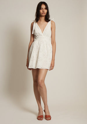 Celeste Tie Mini Dress
