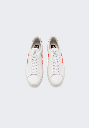 Campo Chromefree Sneakers Extra White/Orange/Fluo Cobalt