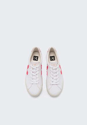 Esplar Canvas Sneakers White/Rose/Fluro