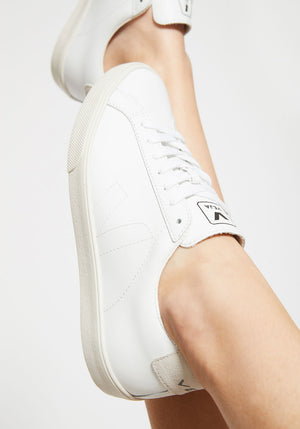 Esplar Leather Sneaker White