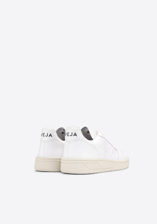 V-10 Leather Sneakers Extra White