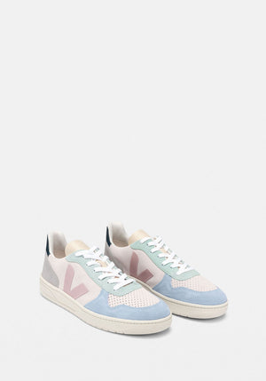 V-10 Suede Sneakers Multico Natural Babe