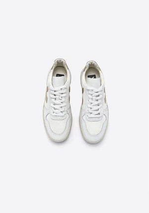 V-10 Sneakers B-Mesh White/Gold