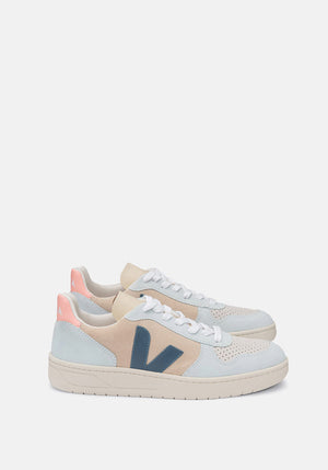 V-10 Suede Sneakers Multico Almond California - Tuchuzy