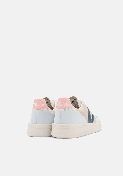 V-10 Suede Sneakers Multico Almond California - Veja - Tuchuzy