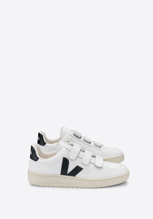 V-Lock Leather Extra White/Black - VEJA - Tuchuzy