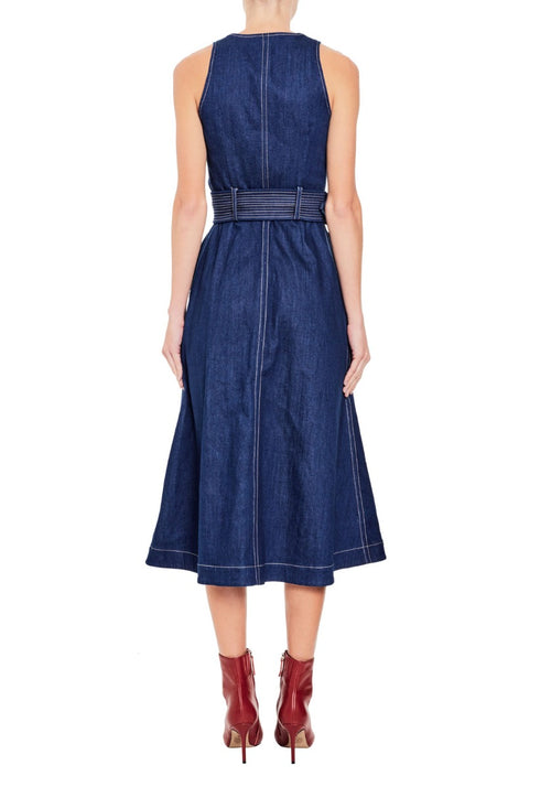 Wallace Denim Dress