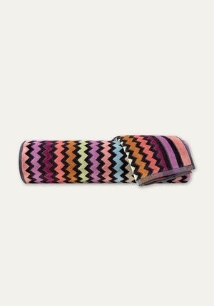 Warner Bath Sheet Pink Multi