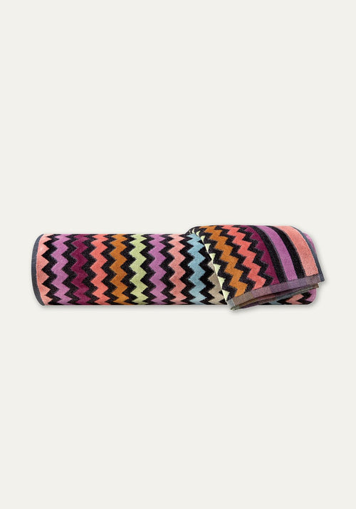 Warner Hand Towel Pink Multi