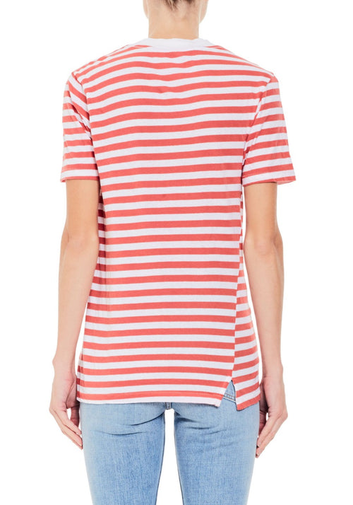 Wide Rib Short Sleeve T-Shirt