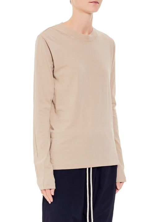 Wide Rib Slim Long Sleeve T-Shirt