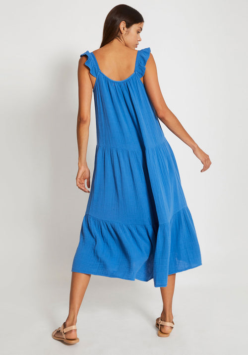 Rumer Dress Blue Spell