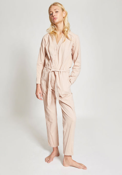 Wylder Twill Jumpsuit Dawn