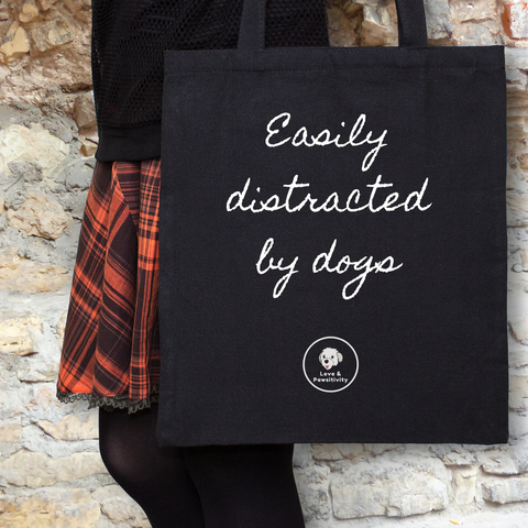 Dog Mom Tote Bags