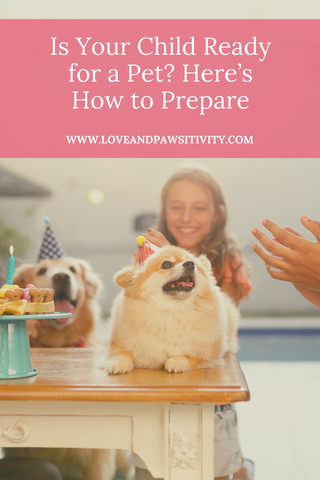 Preparing your kids for a new dog