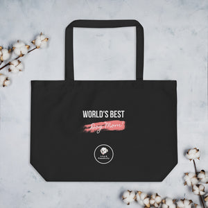 Best Dog Mom | Large Eco Tote Bag