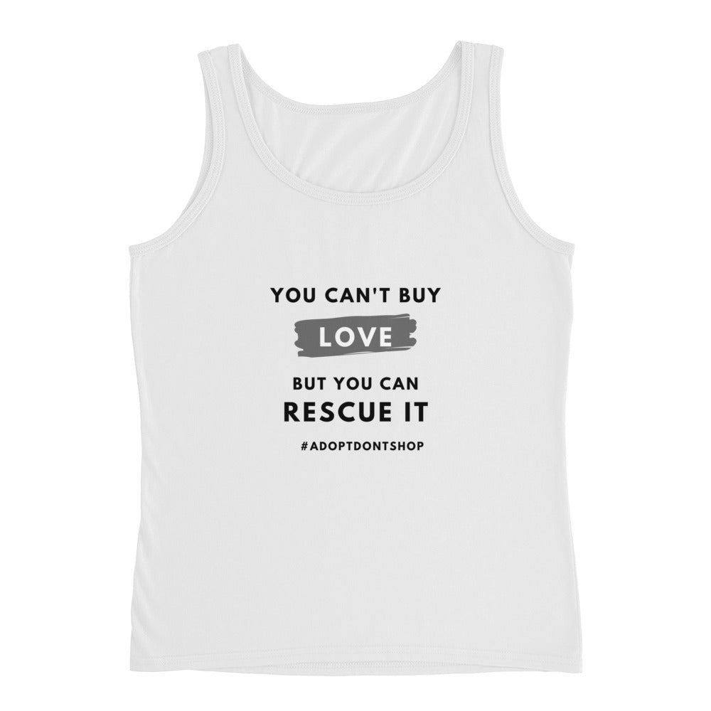 You Can't Buy Love | Lightweight Semi-fitted Tank Top | Women