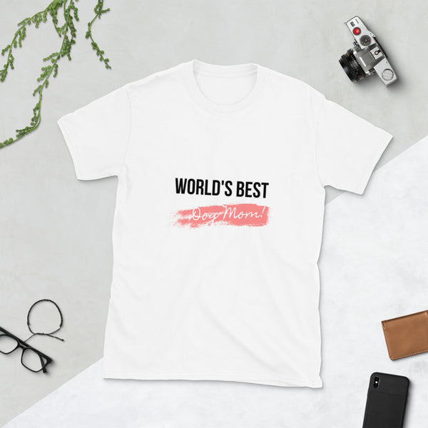 Best Dog Mom | Softstyle Euro-fit Tee | Unisex