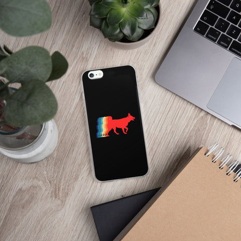 Retro Dog | iPhone Case