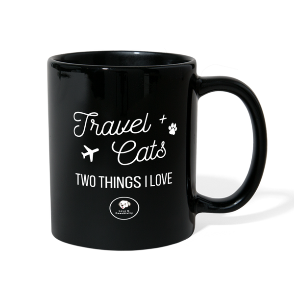 Travel & Cats | Color Mug - Love & Pawsitivity