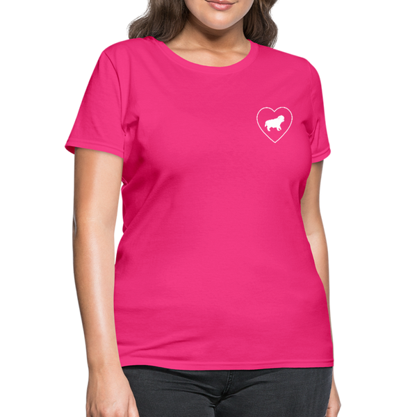 I Heart Pugs! | Comfort Tee | Women - Love & Pawsitivity