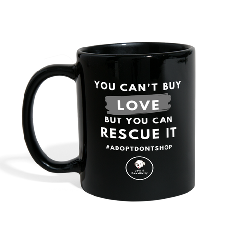 You Can't Buy Love | Color Mug - Love & Pawsitivity
