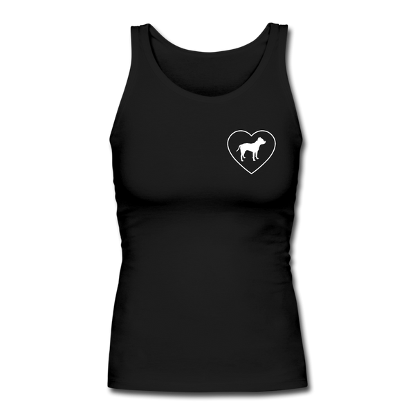 I Heart Pitbulls! | Comfort Tank Top | Women - Love & Pawsitivity