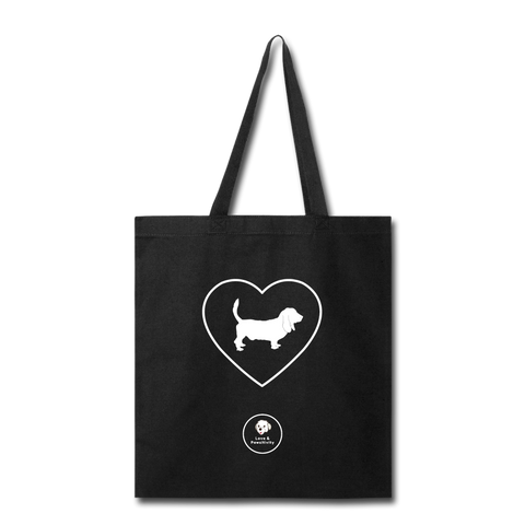 I Heart Hounds! | Tote Bag - Love & Pawsitivity