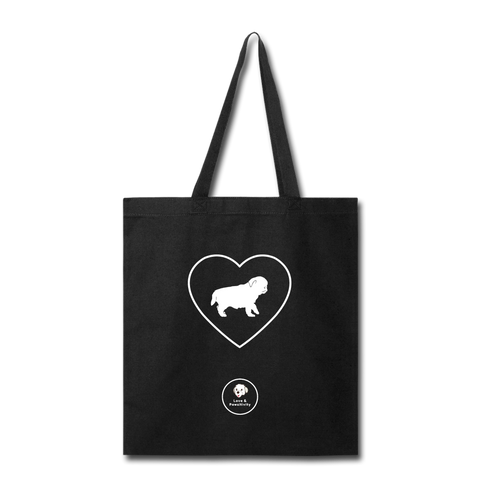 I Heart Pugs! | Tote Bag - Love & Pawsitivity