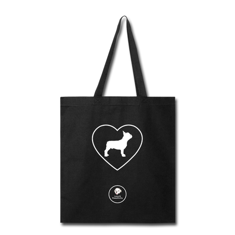 I Heart French Bulldogs! | Tote Bag - Love & Pawsitivity