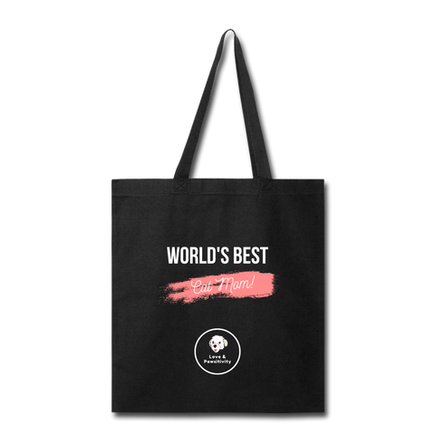 Best Cat Mom | Tote Bag - Love & Pawsitivity