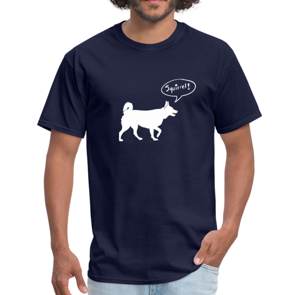 Squirrel! - Husky | Comfort Tee | Men - Love & Pawsitivity