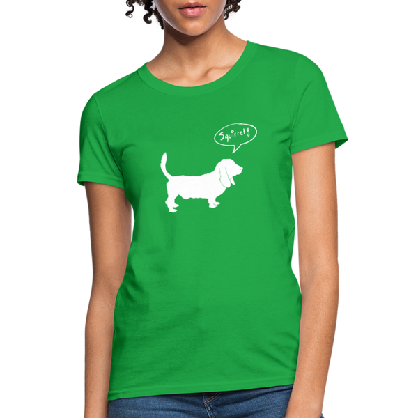 Squirrel! - Hound | Comfort Tee | Women - Love & Pawsitivity
