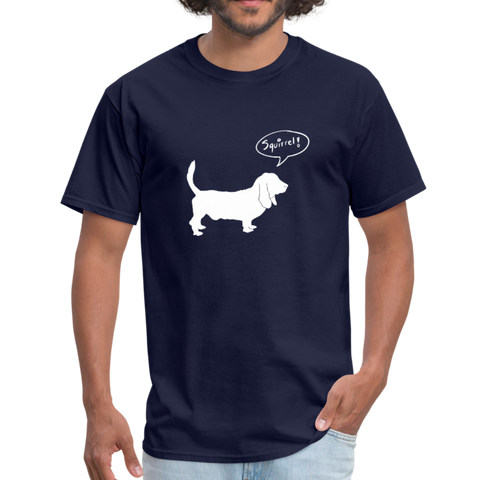 Squirrel! - Hound | Comfort Tee | Men - Love & Pawsitivity