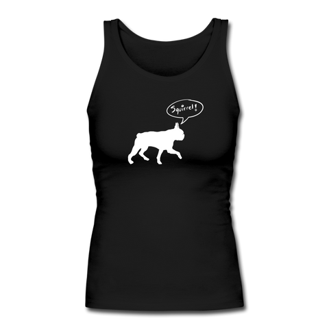 Squirrel! - Boston Terrier | Comfort Tank Top | Women - Love & Pawsitivity