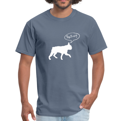 Squirrel! - Boston Terrier | Comfort Tee | Men - Love & Pawsitivity