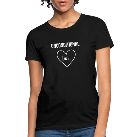 Unconditional Love | Comfort Tee | Women - Love & Pawsitivity