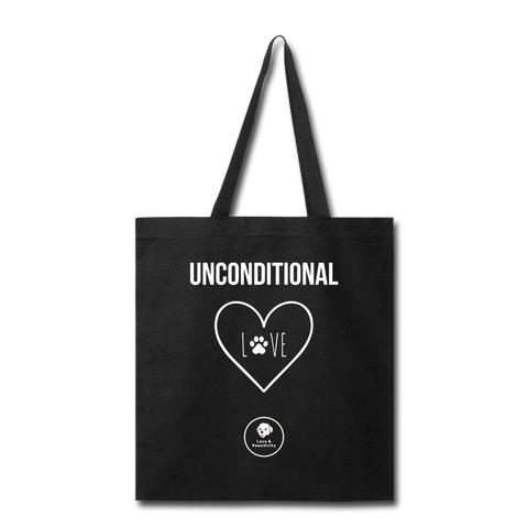 Unconditional Love | Tote Bag - Love & Pawsitivity