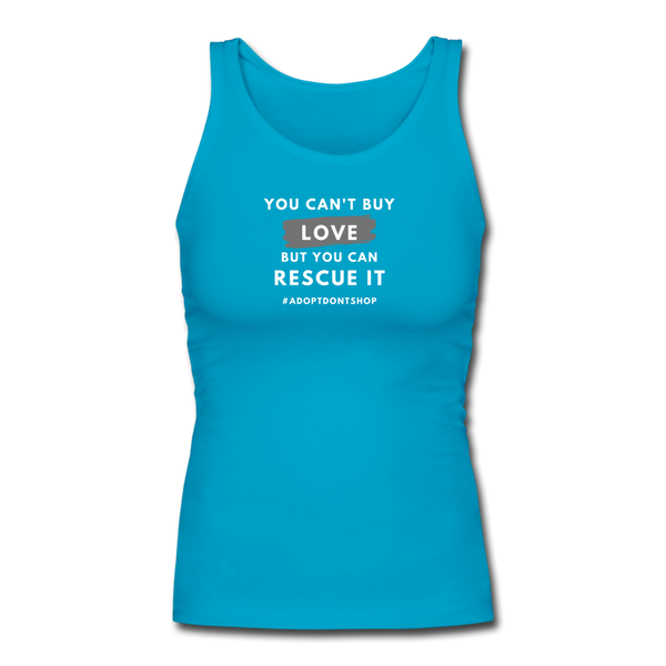 You Can't Buy Love | Comfort Tank Top | Women - Love & Pawsitivity