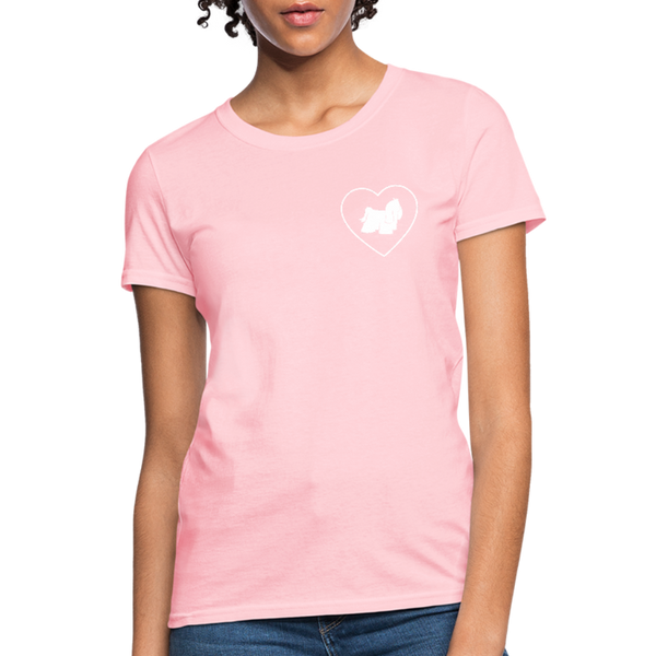 I Heart Yorkies! | Comfort Tee | Women - pink