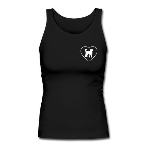 I Heart Labradoodles! | Comfort Tank Top | Women - black