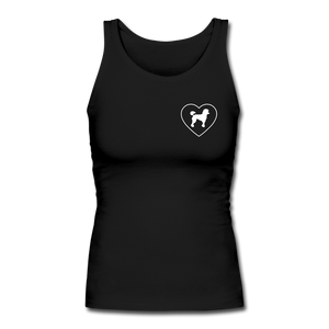 I Heart Poodles! | Comfort Tank Top | Women - black
