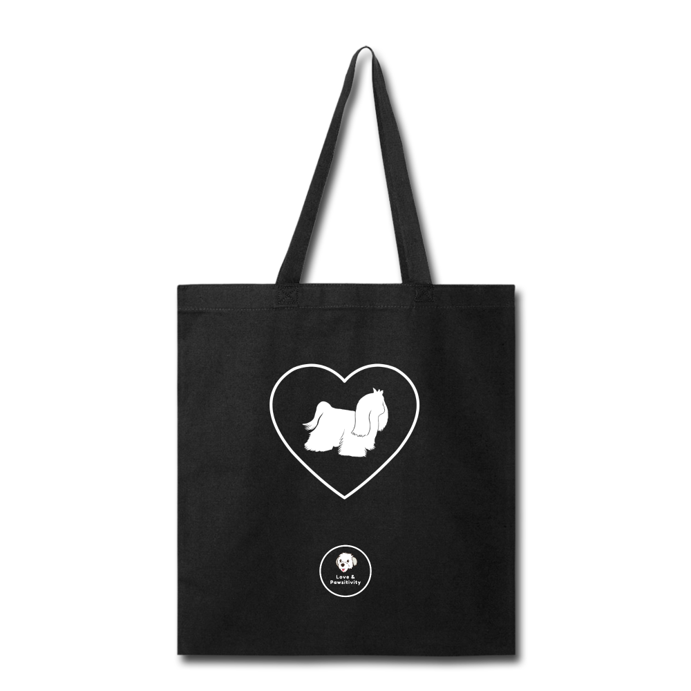 I Heart Malteses! | Tote Bag - black