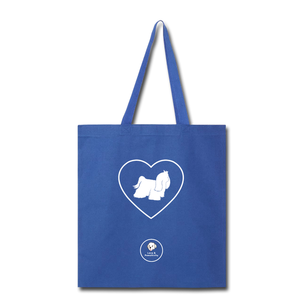 I Heart Malteses! | Tote Bag - royal blue