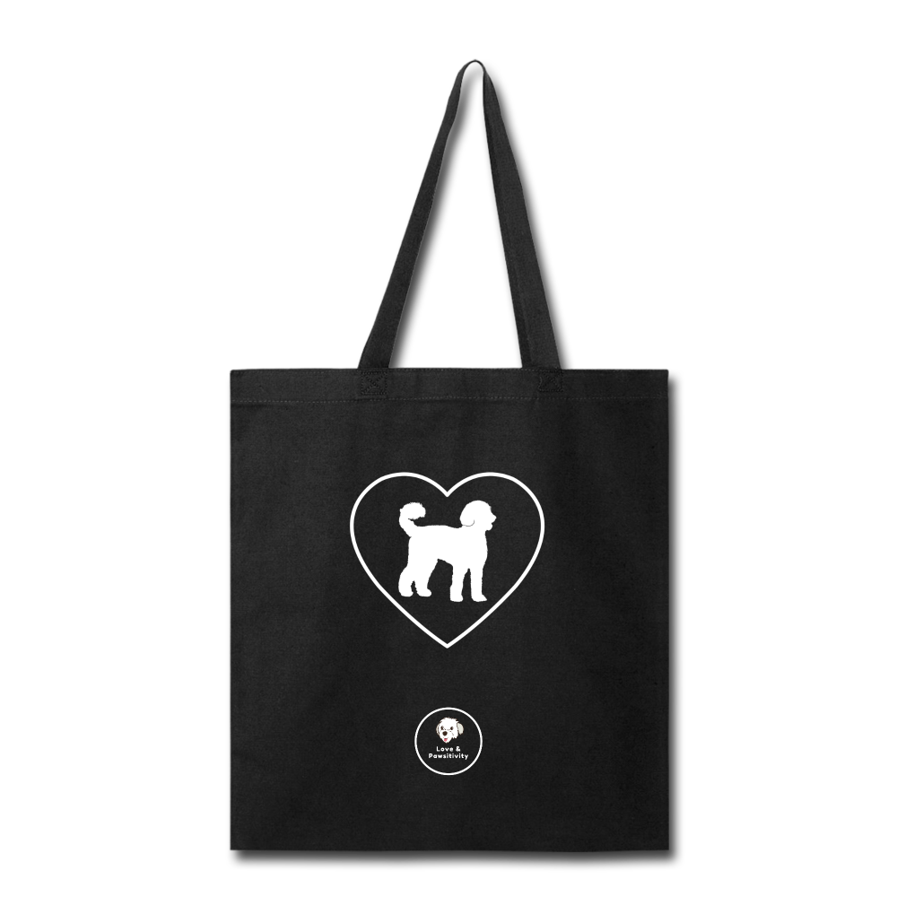 I Heart Labradoodles! | Tote Bag - black