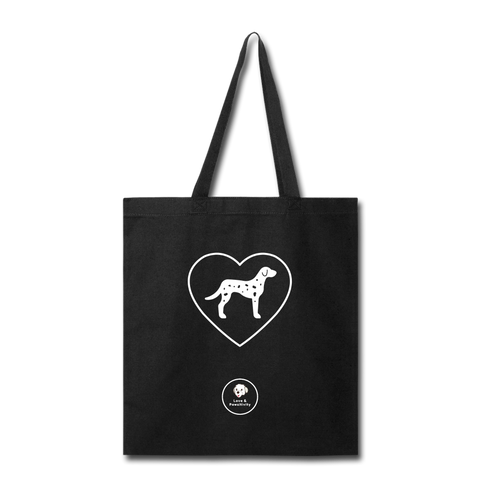 I Heart Dalmatians! | Tote Bag - black