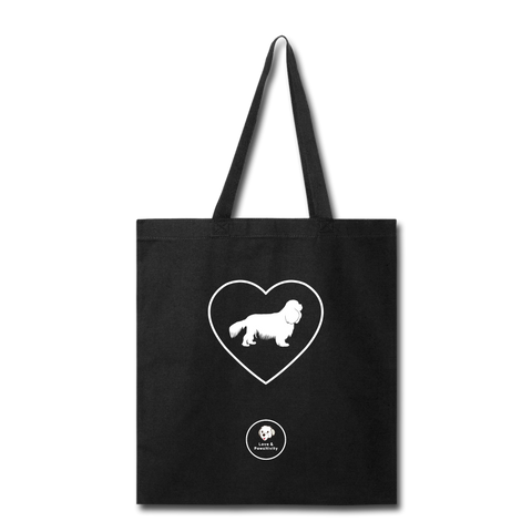 I Heart Cavaliers! | Tote Bag - black