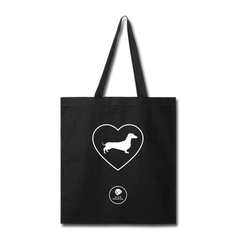 I Heart Doxies! | Tote Bag - black