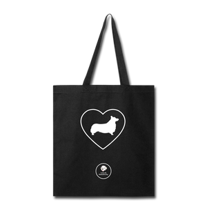 I Heart Corgis! | Tote Bag - black