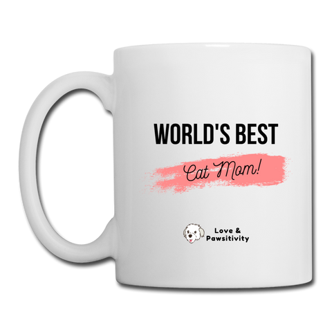 Best Cat Mom | White Mug - white